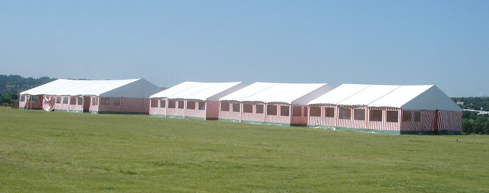 12x30 meter telt | Kæmpe festtelte til byfesten eller det